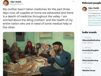 Fake news on shortage of Medicine from Kashmir