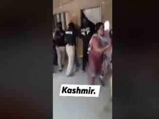 Mudassir Jameel shares Pakistan police shameful video as from Kashmir