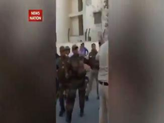 Old Video: clashes between India Army Assam Police Clash Over NRC