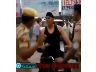 Shanky Singh video shared as as oppressive Indian army in Kashmir