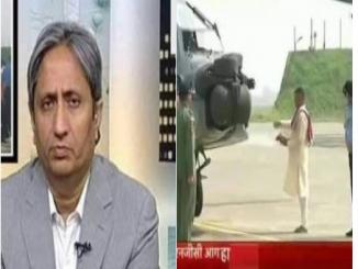 Ravish Kumar, Why did they not read Namaaz, Christmas