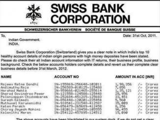 Factscheck: List of black money holders in SWISS bank, is fake