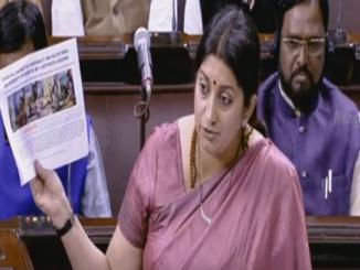 Fact Check: Union Minister Smriti Irani, Maa Durga speech, clip viral