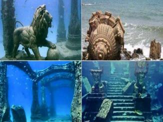 Pictures of Shri Krishna's Dwarka, no they are not real