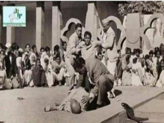 Is it, history a rare pic of Mahatma Gandhi