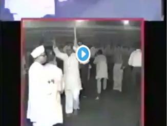 Morarji Desai Playing Dandiya