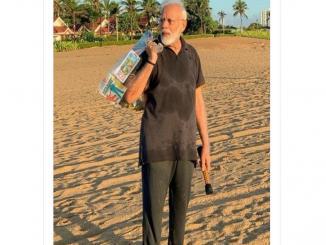 PM Modi video in reverse viral from Mamallapuram morning Walk