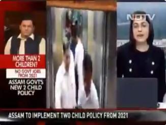 NDTV Anchor claims for unmarried CM having 6 children is not true