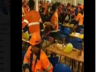 MASS BRAWL DID NOT HAPPEN IN SINGAPORE, gas processing plant in Russia