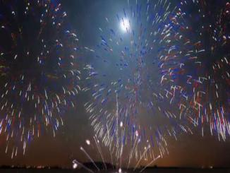 Fireworks in Borivali West,Mumbai, computer generated graphic