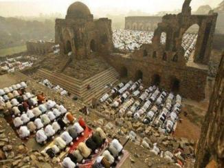 The last prayer was offered at the Babri Mosque