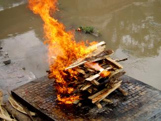 Do Cremation alone accounts to major air pollution across India