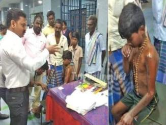 Viral news as Punishment for wearing Ayyappa Mala