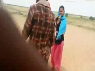 Video from Rajasthan where a women is abducted