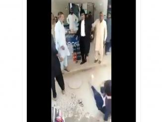 Shakargarh Lawyers Assault Woman Outside Court, she is not Hindu