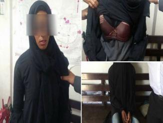 Meet Jamia's woman protester as burkha clad woman Jamia Milia