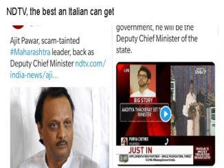 NDTV Fake news: Sonia Singh on Ajit Pawar is biased reporting