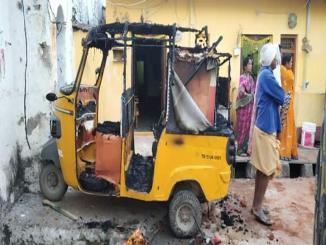 Hindus, looted, burnt 18 Houses in Bhainsa town, Telangana