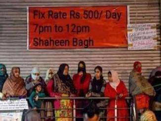 Fact Check: Fix Rate Rs. 500/ Day. 7 pm to 12 pm Shaheen Bagh