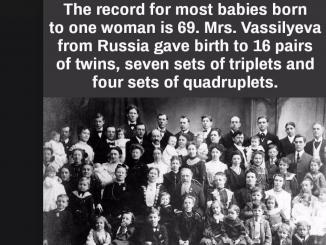 mrs. vassilyeva of shuya Russia, 69 babes siblings