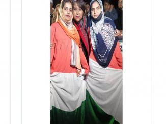 Women Wearing tricolour' burqas, netizens say Modi hai to mumkin hai