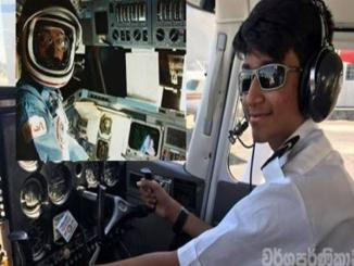 Sri Lankan youngest Air pilot in the world selected for NASA Mars