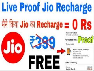 No offer from JIO on recharge of 499 News viral is fake
