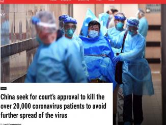 Did China seek, kill over 20,000 coronavirus patients ab-tc.com