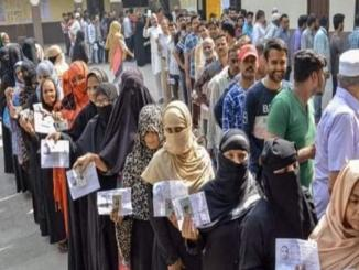 Old Muslim voters pictures shown as recent 8th Feb Delhi Election