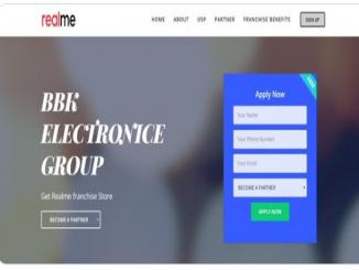 www.realmepartner.in is a fake website says realme