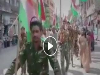 Indian Soldiers shouting against BJP Dalalo ko goli maro saalo ko