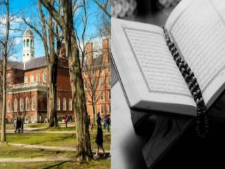 Was Quran ranked as the best book for justice, Harvard University?