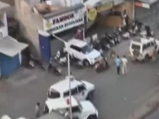 Videos from Ahmedabad stone pelting viral as that of Delhi