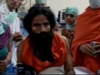 Did Baba Ramdev sick of drinking excessive urine to avoid corona