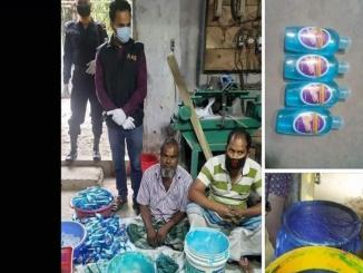 Muslims from Bangladesh caught with fake sanitisers, viral as Indian