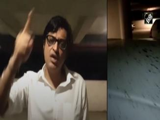 Arnab Goswami attacked in Mumbai while returning home