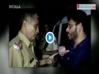 Waris Pathan video Mumbai threaten Mumbai police during lockdown