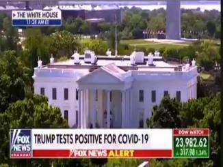 Fox News,Trump test positive for covid-19.