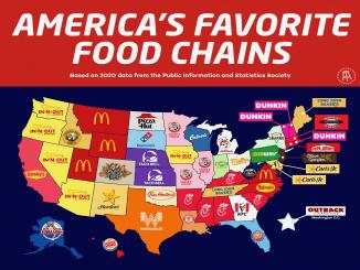 What's the favorite fast food chain from your state?