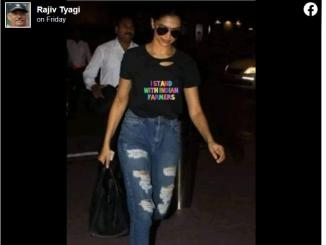 Did Deepika appear before NCB in T-shirt with pro farmer message