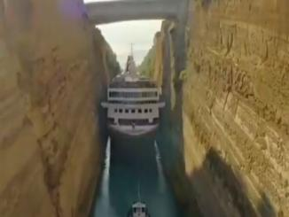 Video of Cruise ship passing through thick passage viral, Gujarat
