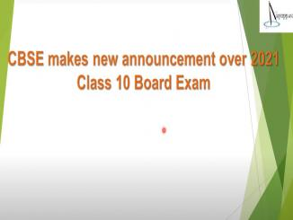 CBSE makes new announcement over 2021 Class 10 Board Exam