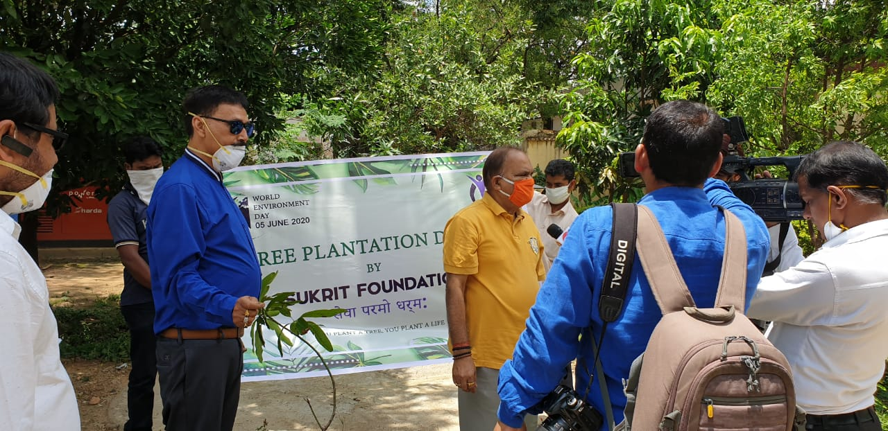Sukrit Foundation Tree Plantation campaign on World ...